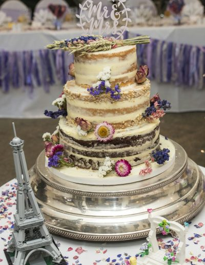 Naked Wedding Cake Quy Mill Hotel Keen For cakes Cambridgeshire