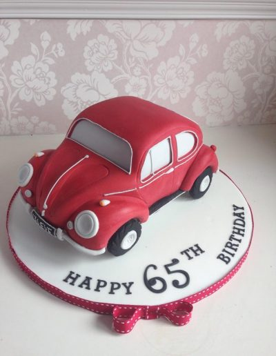 VW Beetle Car Cake cambridgeshire