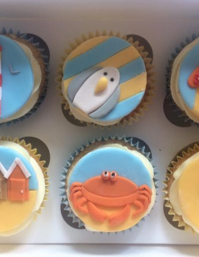 beach seaside cupcakes cambridgeshire