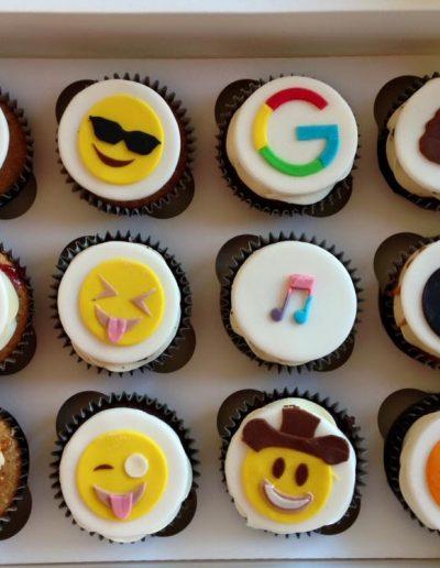emoji cupcakes cambridgeshire