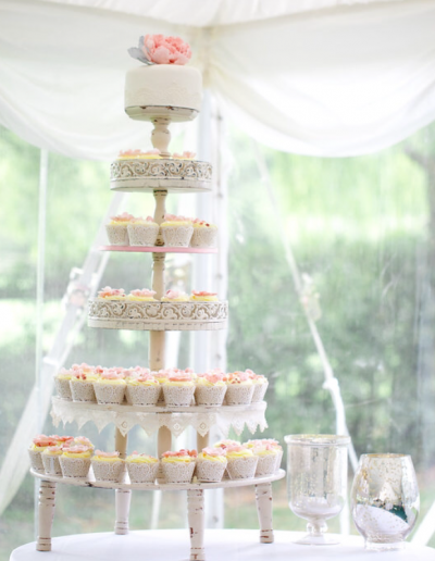Wedding Cupcake Tower Cambridgeshire