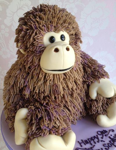 shaggy monkey cake Cambridgeshire