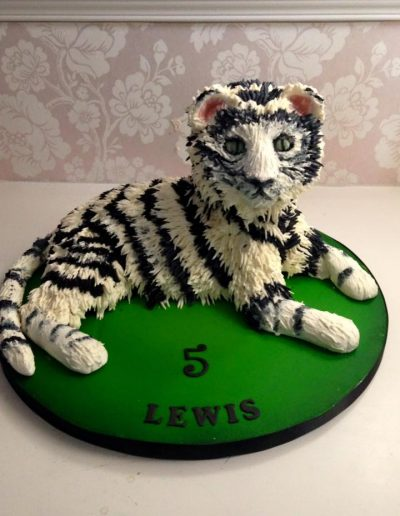 snow cat cake cambridgeshire