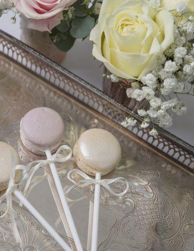 Macaron Pops Wedding Favours