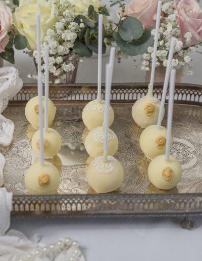 Ivory Cake Pops