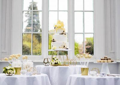 Wedding Dessert Table Swynford Manor