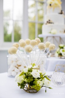 Cake Pop Wedding Dessert Table Cambridgeshire