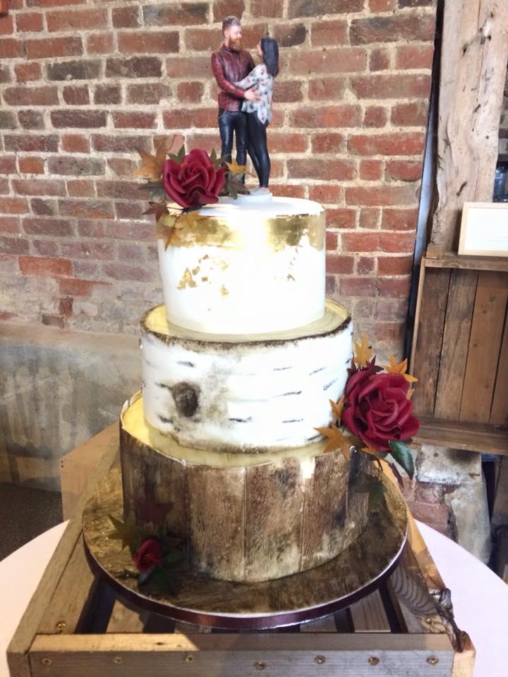Naked Wedding Cakes Cambridgeshire