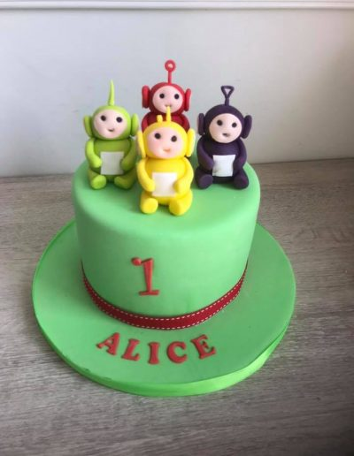 tele tubbies cake