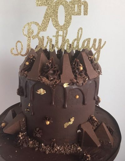 Toblarone cake