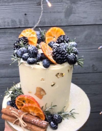 cinnamon and orrange winter cake