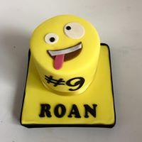 emoji mini cake